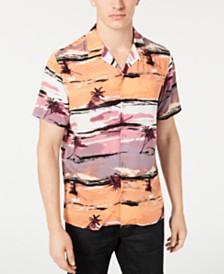 I.N.C. Men's Tropical Camp Shirt, Created for Macy's