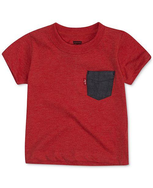 Levi's Baby Boys Pocket Cotton T-Shirt
