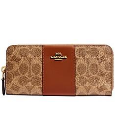 19dc81d69a COACH Wallets & Accessories - Macy's
