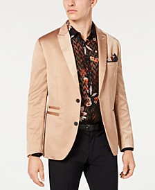 INC Men's Slim-Fit Stretch Satin Blazer, Created for Macy's