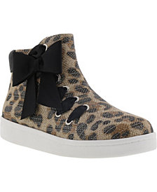 Kenneth Cole Little & Big Girls Cosmic Bow Sneaker