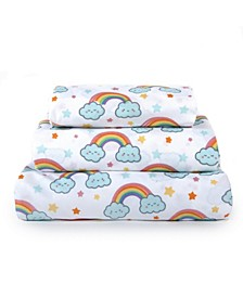 Kids Rule 4-Piece Full Sheet Set