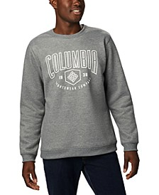 Men's Hart Mountain™ Regular-Fit Fleece Logo Sweatshirt
