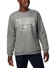 Columbia Men's Hart Mountain™ Regular-Fit Fleece Logo Sweatshirt