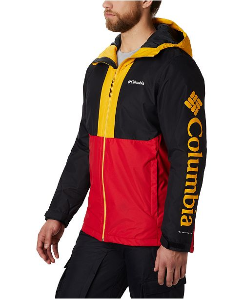 Columbia Men's Timberturner™ Colorblocked Hooded Ski Jacket
