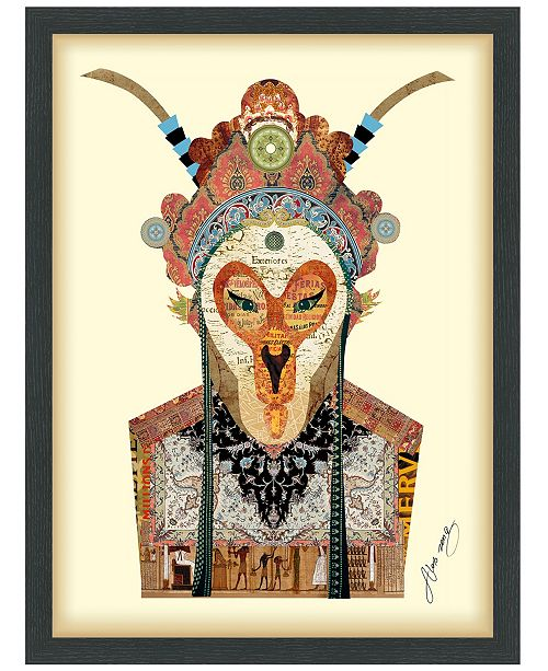 "Empire Art Direct 'Beijing Opera Mask 1' Dimensional Collage Wall Art - 25"" x 19''"