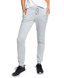 Juniors' Fleece Jogger Pants