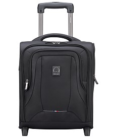 "Delsey OptiMax Lite 17"" 2-Wheel Under-Seater"