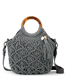 Helena Crochet Circle Handle Crossbody