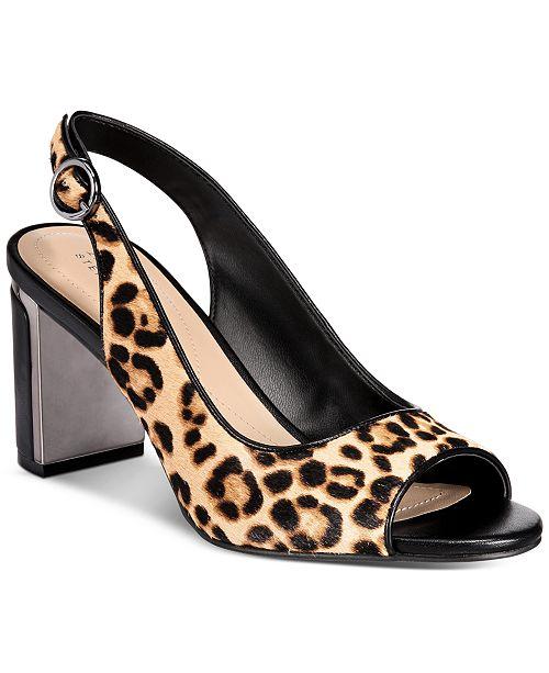 Alfani Women's Florraa Slingback Dress Sandals, Created for Macy's