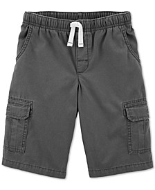Big Boys Cotton Cargo Shorts