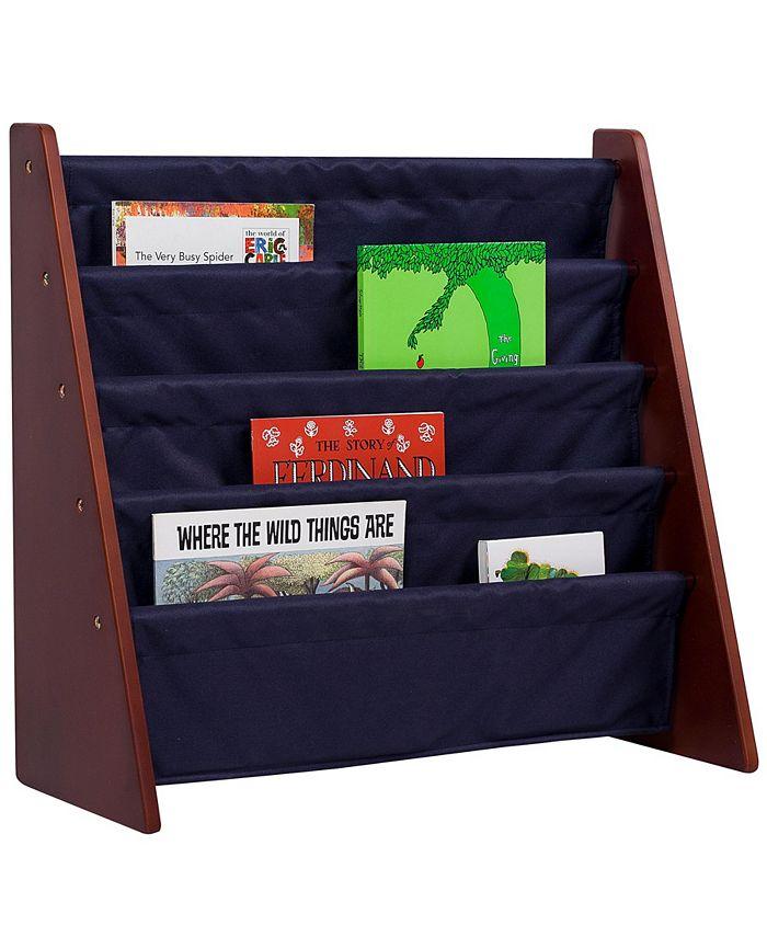 Wildkin - Sling Book Shelf - Cherry w/ Blue