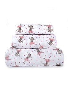 Kids Rule 3-Piece Twin Sheet Set