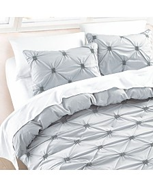 California Design Den Cotton 3-Piece Duvet Cover Set, Full/Queen