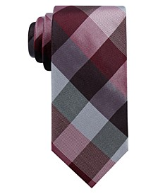 Men's Weho Check Slim Silk Tie, Created for Macy's