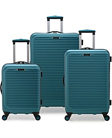 Helsinki 3-Piece Hardside Luggage Spinner Set