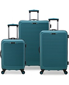Elite Luggage Helsinki 3-Piece Hardside Luggage Spinner Set