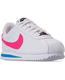 Big Girls Cortez Basic SL Casual Sneakers from Finish Line