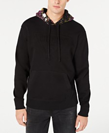 GUESS Men's Graffiti Splatter Hoodie