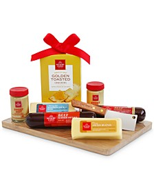 Hickory Farms Favorites Gourmet Cutting Board