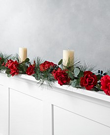 Rose & Pine Artificial Garland, Created for Macy's