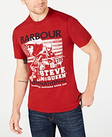 International Steve McQueen  Men's Collage T-Shirt, Created For Macy's