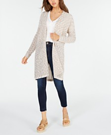 American Rag Juniors' Dolman Knit Duster, Created for Macy's