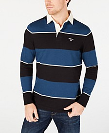 Men's Lark Regular-Fit Stripe Rugby Shirt