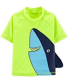 Baby Boys Shark-Print Rash Guard