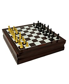 10 in 1 Wood Game Set
