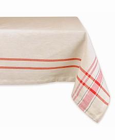"French Stripe Tablecloth 60"" x 84"""