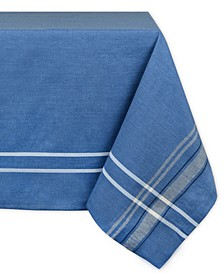 "French Chambray Tablecloth 60"" x 120"""