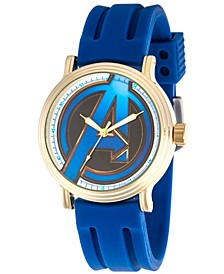 Men's Marvel Avengers Endgame Avengers Blue Strap Watch 44mm