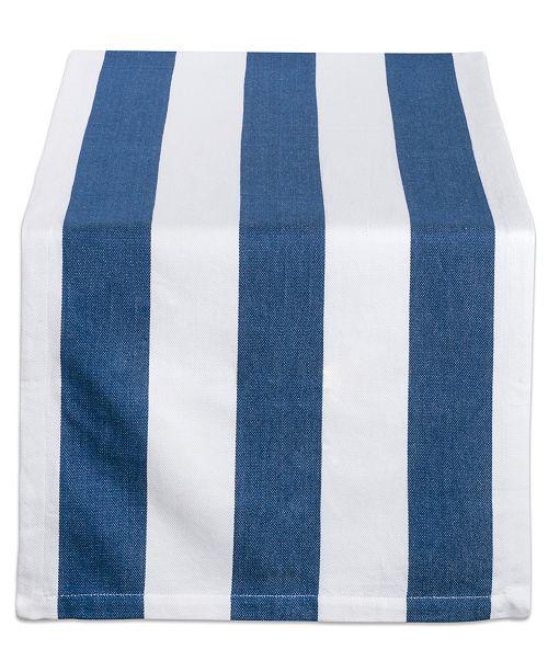 """Design Import Dobby Stripe Table Runner 18"""" x 72"""""""