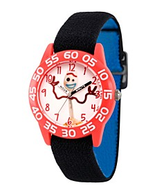 Boy's Disney Toy Story 4 Forky Black Plastic Time Teacher Strap Watch 32mm