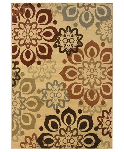 CLOSEOUT! Oriental Weavers Rugs, Pember 4441W Snowflake