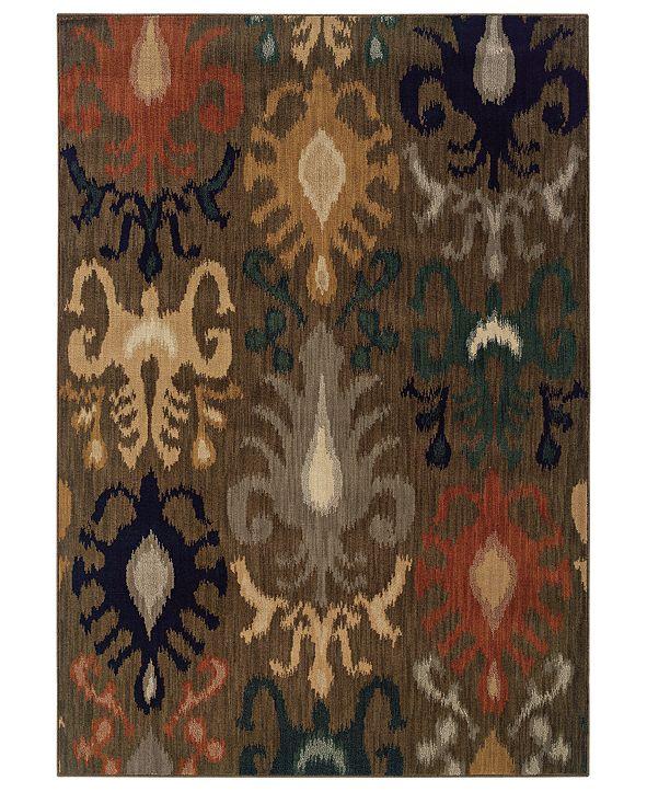 """Oriental Weavers Area Rug, Kasbah 3830D Sharif 1'10"""" x 7'6"""" Runner Rug"""