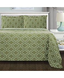 Superior Flannel Cotton Duvet Cover Set - King/California King