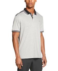 DKNY Men's Interlock Tipped Polo Shirt
