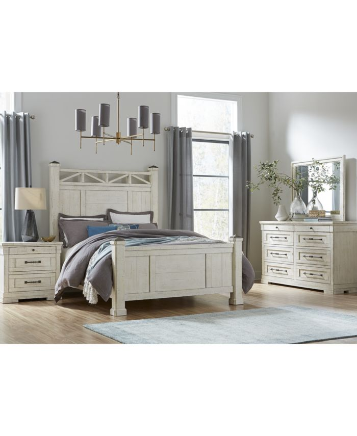 Furniture Trisha Yearwood Coming Home Queen Post Bed  & Reviews - Furniture - Macy's