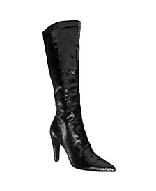 Nina Dixie Tall Shaft Sequins Boots