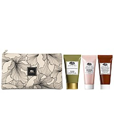 Receive a Free 4pc Sampler with any $55 Origins purchase (A $31 Value!)