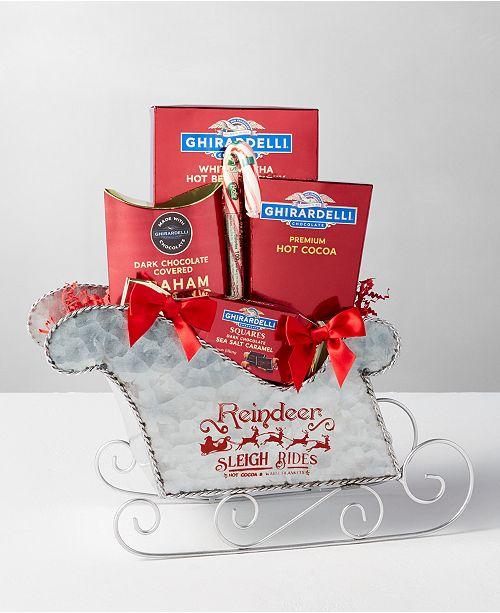 Design Pac Sleigh Ride Gift Basket