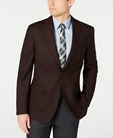 Tommy Hilfiger Men's Modern-Fit THFlex Stretch Textured Sport Coat