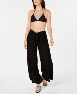 Becca Suits MODERN MUSE WRAP COVER-UP PANTS WOMEN'S SWIMSUIT
