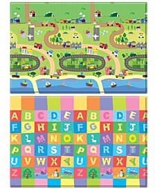 Hoobei Playmat Large Size - Happy Village