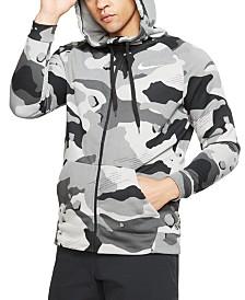 Nike Men's Dri-FIT Camo Zip Hoodie