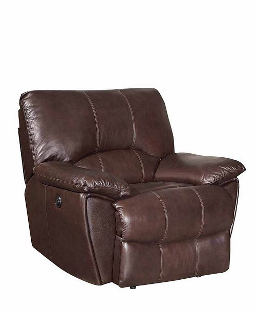 Coaster Home Furnishings Clifford Power Recliner with Pillow Arms