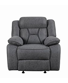 Houston Pillow-padded Glider Recliner