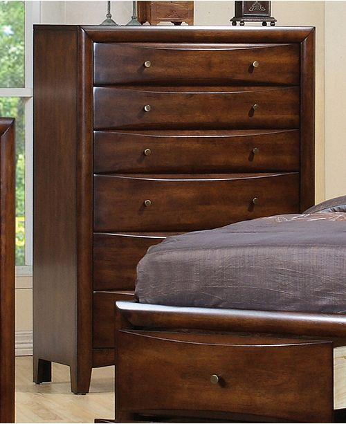 Coaster Home Furnishings Hillary 6-Drawer Chest